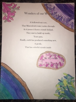 Honorable Mention - M.J Gilligan, Benchmark Elementary
